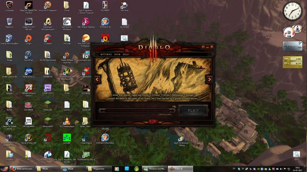 Installing Diablo 3